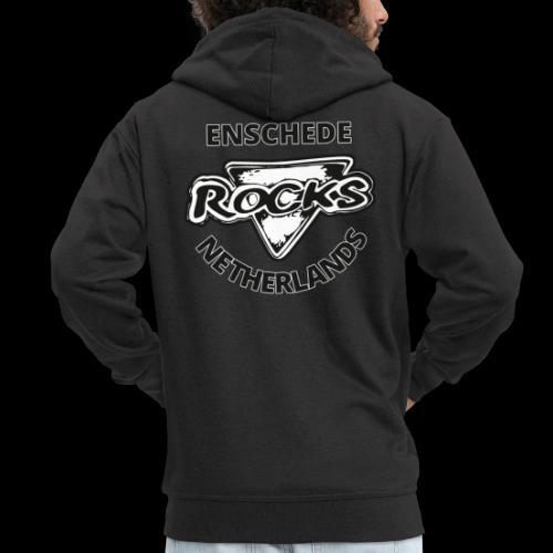 Rocks Enschede NL B-WB - Mannenjack Premium met capuchon