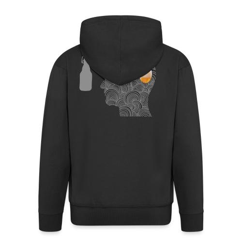 WYSIWYG Beer Shirt - Männer Premium Kapuzenjacke