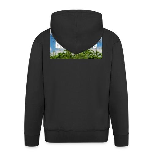 betterbee Banner T-Shirt - Männer Premium Kapuzenjacke