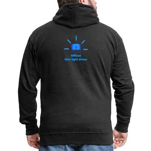 Blue light driver - Männer Premium Kapuzenjacke