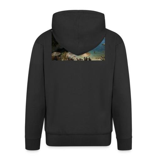 Cameo Island - Felpa con zip Premium da uomo