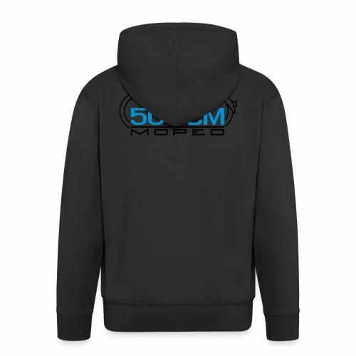Moped SR2 50 cc emblem - Men's Premium Hooded Jacket