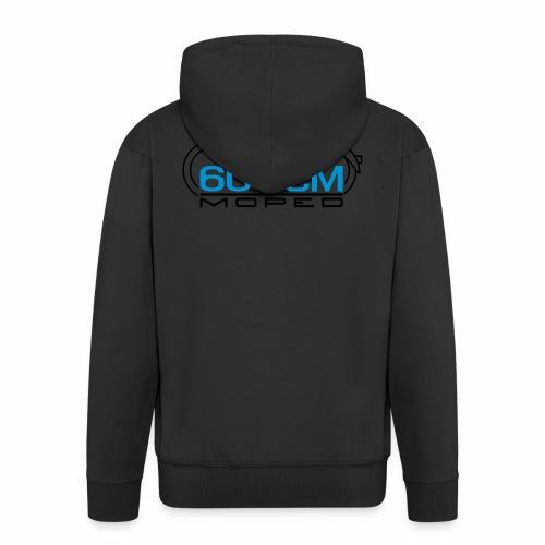 Moped SR2 60 ccm emblem - Men's Premium Hooded Jacket