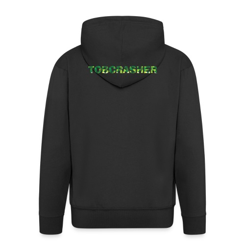 Tshirt Green triangles big - Männer Premium Kapuzenjacke