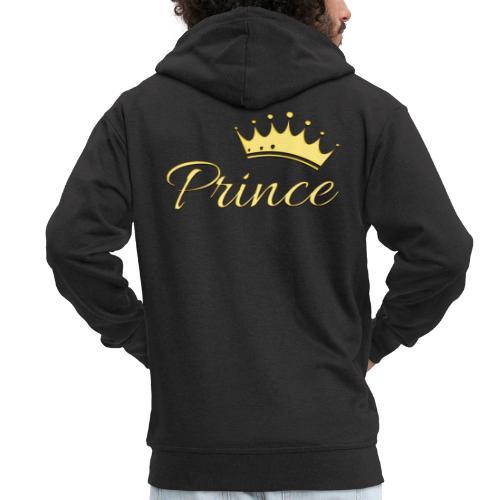 Prince Or -by- T-shirt chic et choc - Veste à capuche Premium Homme