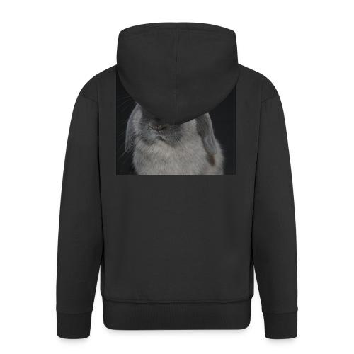 Conejo minilop mujer - Chaqueta con capucha premium hombre