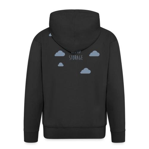 Cloud Storage - Männer Premium Kapuzenjacke
