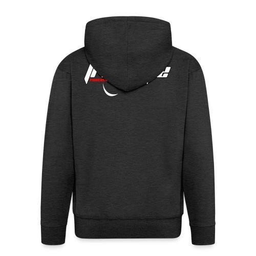 Freestyle - Powerlooping, baby! - Men's Premium Hooded Jacket