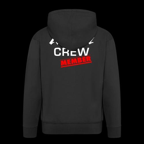 NuEra Crew Logo 2018 - Männer Premium Kapuzenjacke