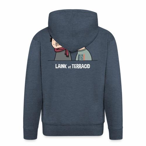 Laink et Terracid old - Veste à capuche Premium Homme