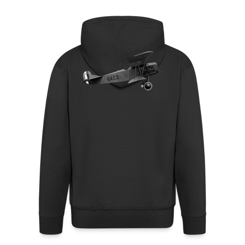 Paperplane - Men's Premium Hooded Jacket
