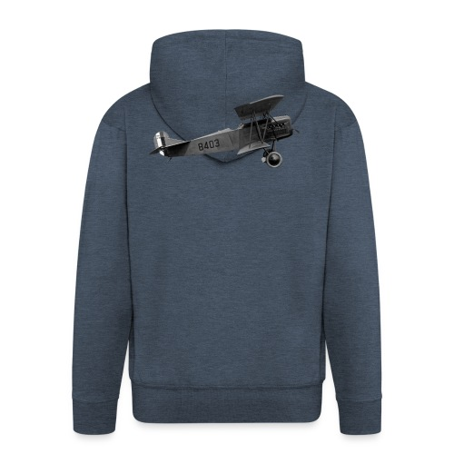 Paperplane - Men's Premium Hooded Jacket