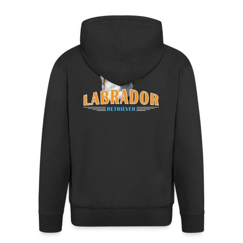 Labrador Tonko stolz - Männer Premium Kapuzenjacke