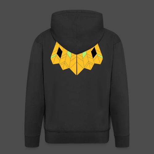 Owl Colour Redraw - Men's Premium Hooded Jacket
