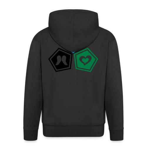 Tee shirt baseball Enfant Trio ange, ailes d'ange - Men's Premium Hooded Jacket