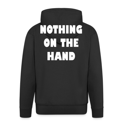 nothing on the hand wit - Mannenjack Premium met capuchon