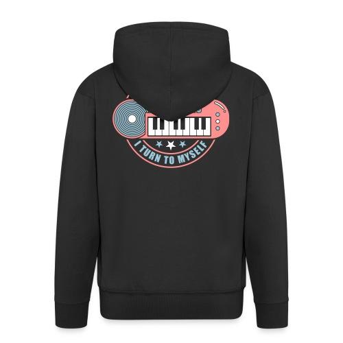 Inspiring Oneself - Men's Premium Hooded Jacket