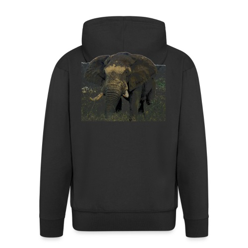 Elephant - Männer Premium Kapuzenjacke