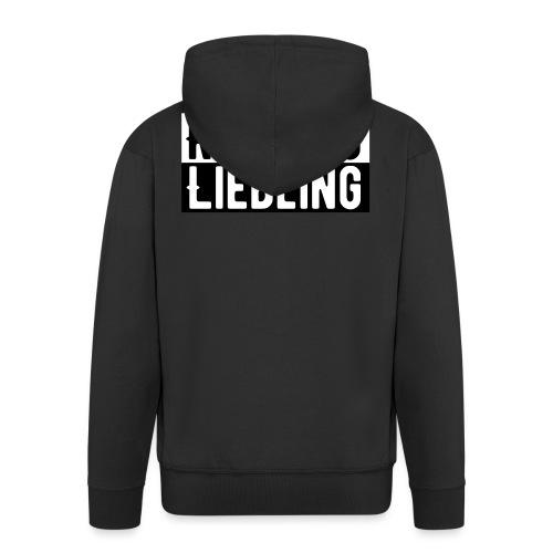 Riesling Liebling / Weintrinker / Partyshirt - Männer Premium Kapuzenjacke