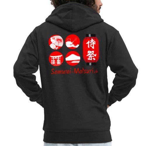 Samurai Matsuri Festival - Männer Premium Kapuzenjacke