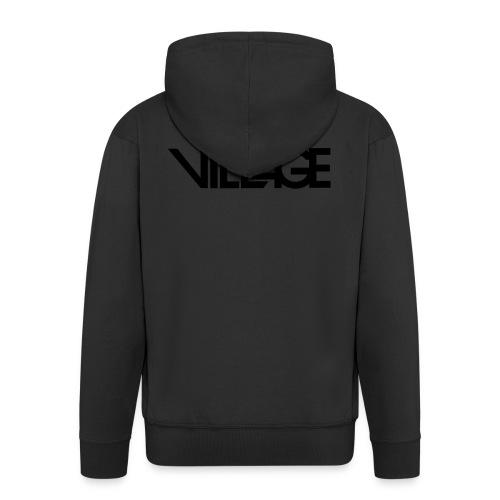 Logo Latin Village 30 - Mannenjack Premium met capuchon