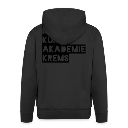 KKA 2016 lifestyle back2 - Männer Premium Kapuzenjacke