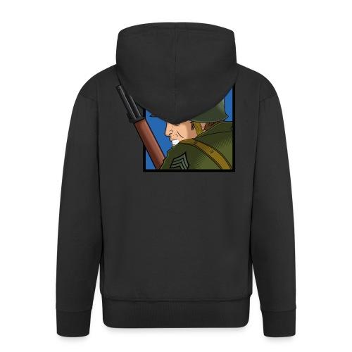 M1 - Chaqueta con capucha premium hombre