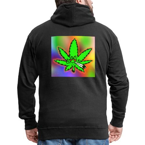 best weed - Miesten premium vetoketjullinen huppari