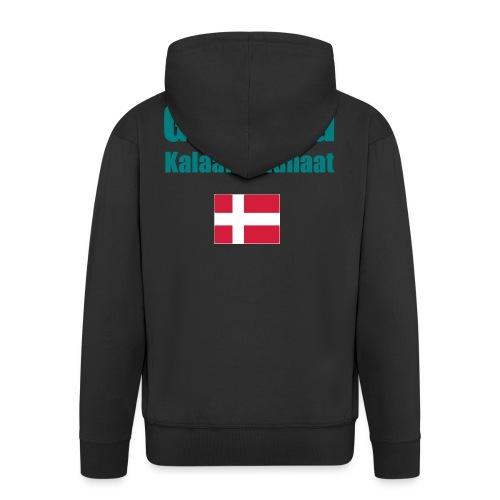 Grønland Expedition - graues Survival Shirt - Männer Premium Kapuzenjacke