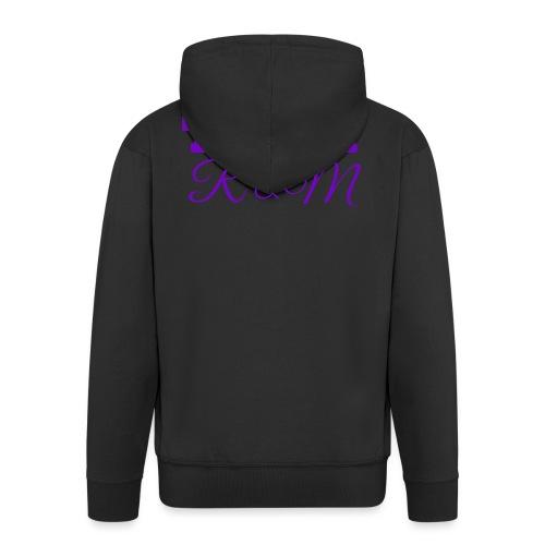 Team R N M Hoodie Purple, W - Men's Premium Hooded Jacket