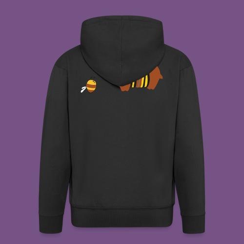 Honigbär - Männer Premium Kapuzenjacke
