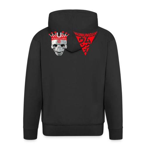 skull krone humungus3 png - Männer Premium Kapuzenjacke