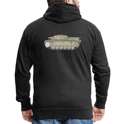 Stug III Ausf D. - Männer Premium Kapuzenjacke