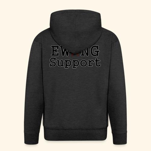Ewing Support - Men's Premium Hooded Jacket