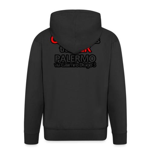 Caliner Palermo T-shirt - Felpa con zip Premium da uomo