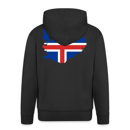 Iceland - Mannenjack Premium met capuchon