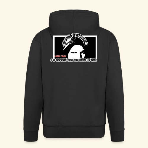 Spector Quote - Men's Premium Hooded Jacket