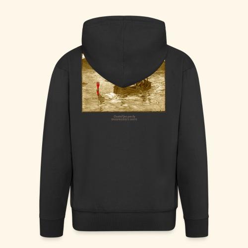 Geek T Shirt Excalibur 2.0 - Männer Premium Kapuzenjacke