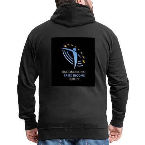 02 ubie on black centered square jpg - Mannenjack Premium met capuchon