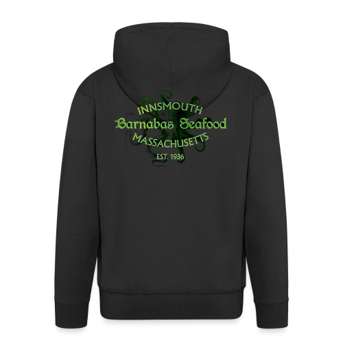 Barnabas (H.P. Lovecraft) - Men's Premium Hooded Jacket
