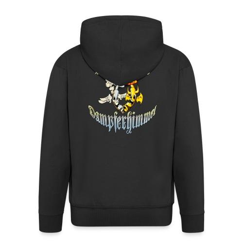 Münchner-Dampferhimmel T-Shirt - Männer Premium Kapuzenjacke
