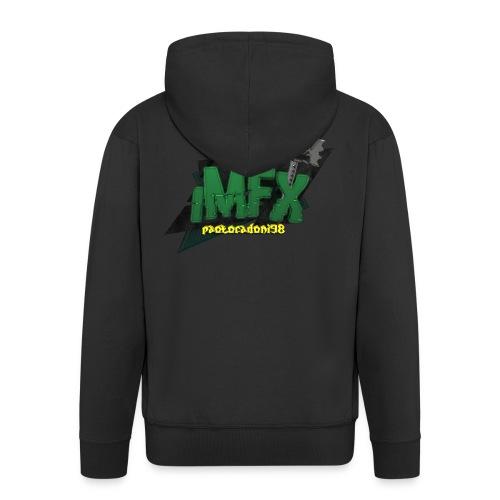 [iMfx] paolocadoni98 - Felpa con zip Premium da uomo
