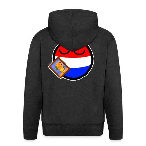 Netherlandsball - Men's Premium Hooded Jacket