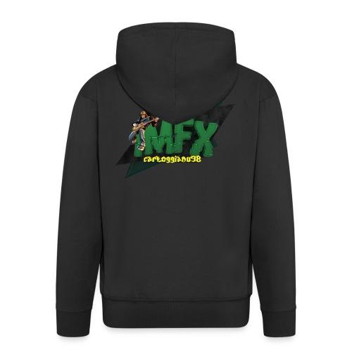 [iMfx] carloggianu98 - Felpa con zip Premium da uomo