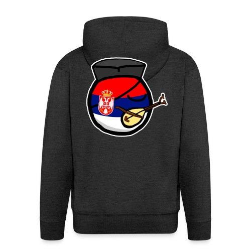 Serbiaball - Men's Premium Hooded Jacket