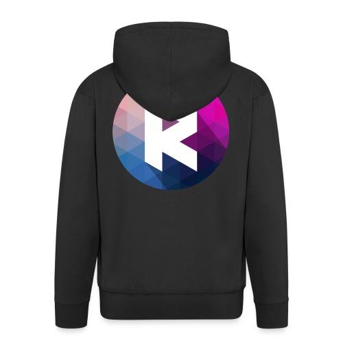 radiant logo - Men's Premium Hooded Jacket