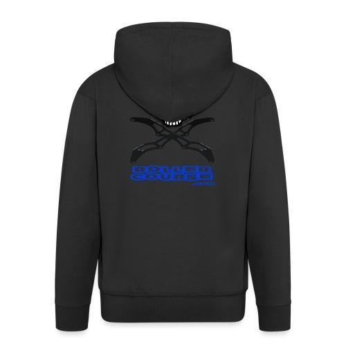 Skull rollercourse - Veste à capuche Premium Homme