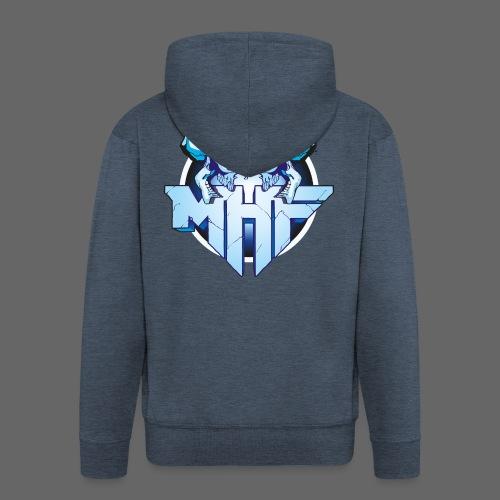 MHF New Logo - Men's Premium Hooded Jacket