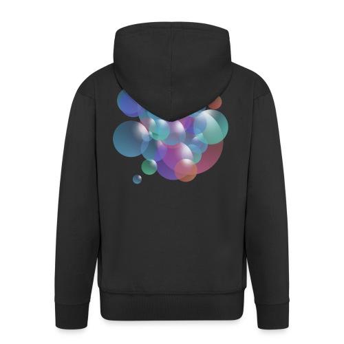 bubble - Männer Premium Kapuzenjacke