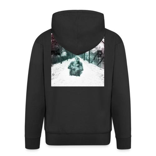 City Winter Jungle - Männer Premium Kapuzenjacke